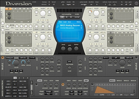 KnobVersion Sound Bank for Diversion