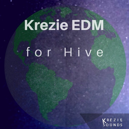 Krezie Sounds Krezie EDM For U-HE HiVE H2P-DISCOVER