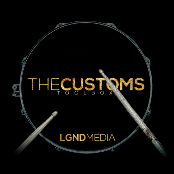 LGND Media The Customs Toolbox WAV AiFF MiDi