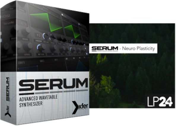 LP24 Neuro Plasticity For XFER RECORDS SERUM