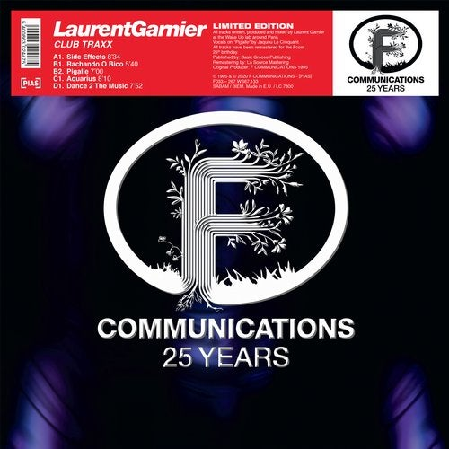 Laurent Garnier – Coloured City [F086]