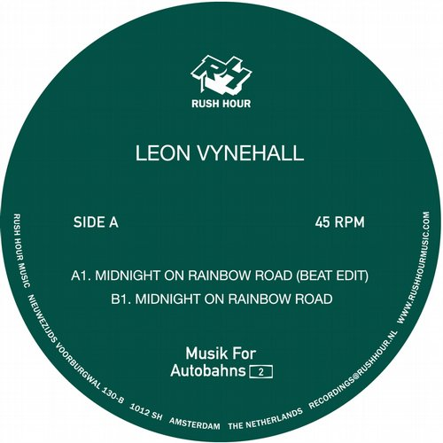 Leon Vynehall – Midnight on Rainbow Road [RHM019]