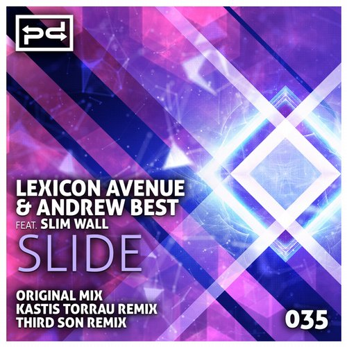 Lexicon Avenue, Andrew Best, Slim Wall - Slide [PSDI035]