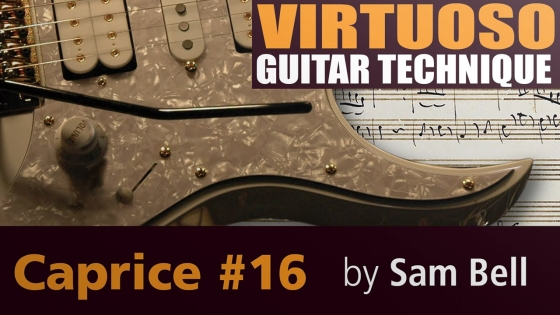 Lick Library: Virtuoso Guitar Techniques Caprice #16