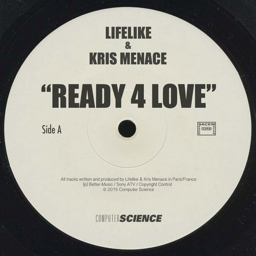 Lifelike, Kris Menace - Ready 4 Love - Single [72241]