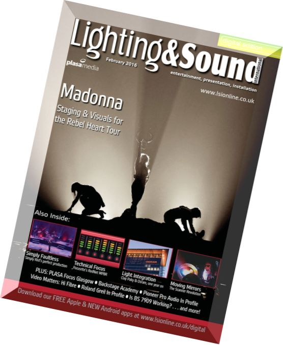Lighting & Sound International February 2016