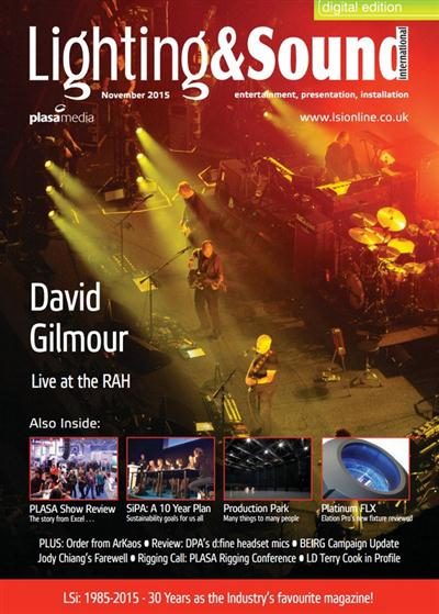Lighting & Sound International November 2015