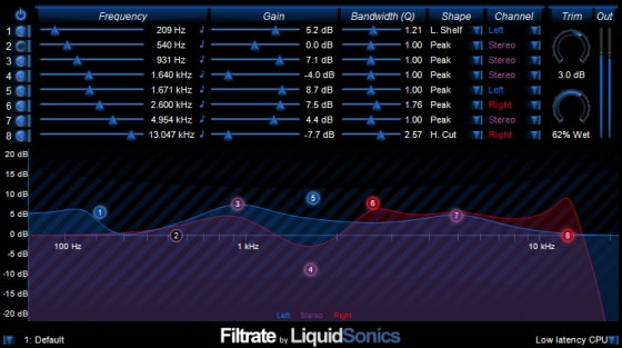 LiquidSonics Filtrate v1.111 MacOSX Incl. Patched and Keygen HEXWARS