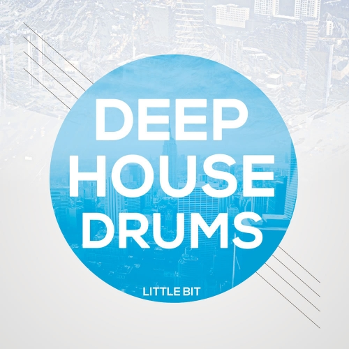 Little Bit Deep House Drum Loops