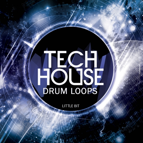 Little Bit Tech House Drum Loops WAV