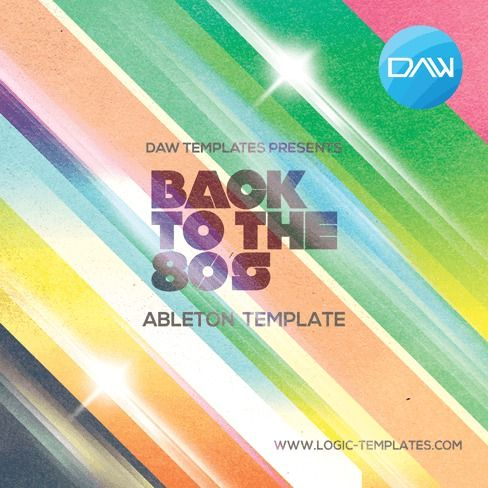 Logic Templates Back to 80s ABLETON TEMPLATE ACID WAV MERRY XMAS