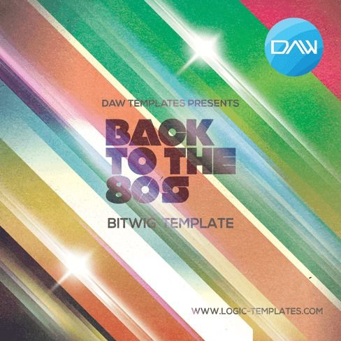Logic Templates Back to 80s BITWIG DAW TEMPLATE ACID WAV MERRY XMAS