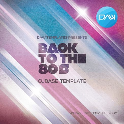 Logic Templates Back to 80s CUBASE TEMPLATE ACID WAV MERRY XMAS