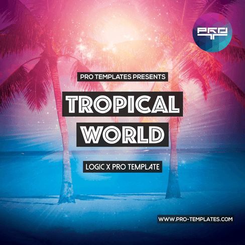 Logic Templates Tropical World LOGIC X PRO TEMPLATE MULTIFORMAT MERRY XMAS