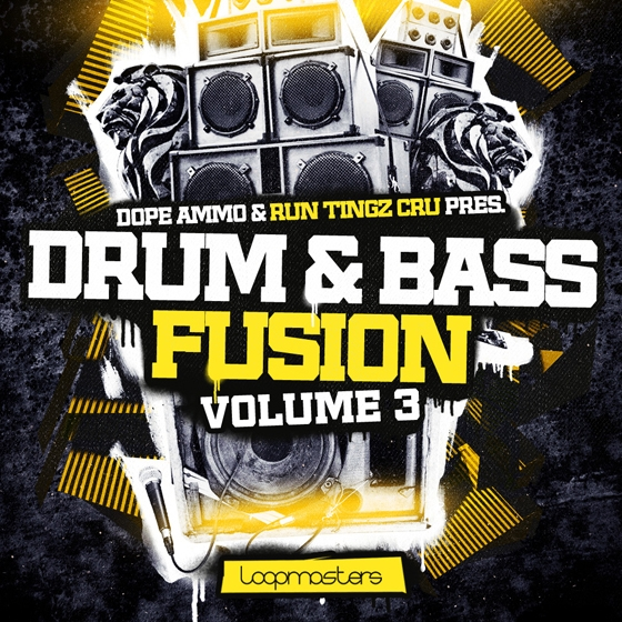 Loopmasters Dope Ammo and Run Tingz Cru Drum & Bass Fusion Vol 3 MULTiFORMAT