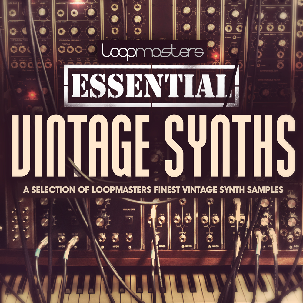 Loopmasters Essentials 37 Vintage Synths