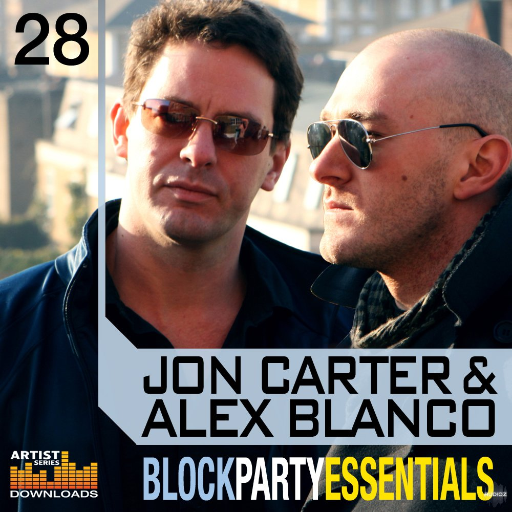 Loopmasters  Jon Carter and Alex Blanco Block Party Essentials MULTiFORMAT