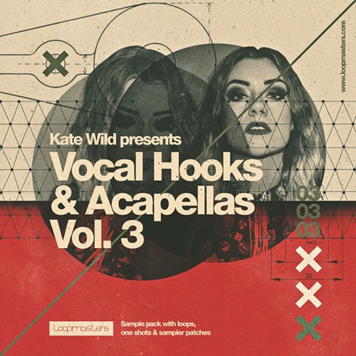 Loopmasters Kate Wild Vocal Hooks and Acapellas Vol 3 MULTiFORMAT