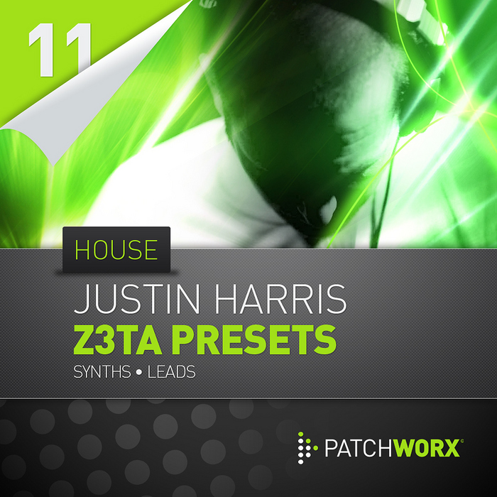 Loopmasters Patchworx 11 Justin Harris House Synths Z3TA+ Presets FXB MIDI
