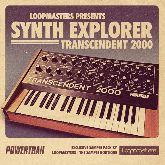 Loopmasters synth explorer transcendent 2000 multiformat for Deep house 2000