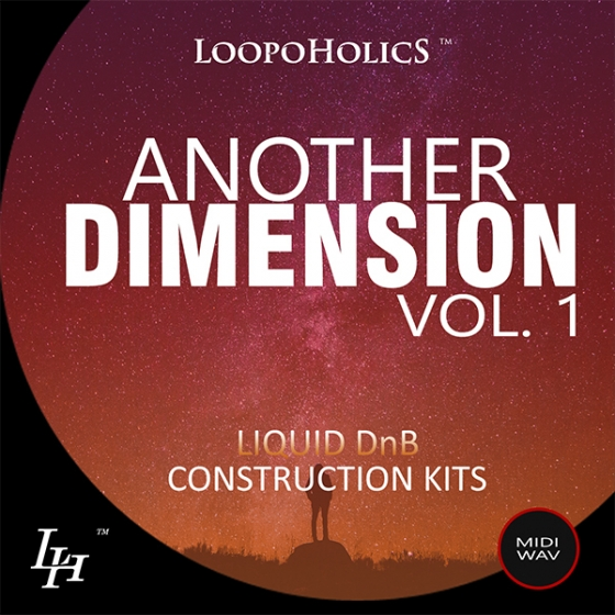 Loopoholics Another Dimension Vol 1 Liquid DnB WAV MiDi