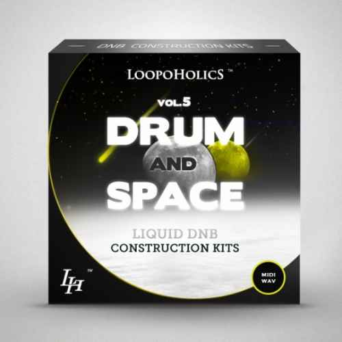 Loopoholics Drum and Space Vol.5 Liquid DnB Construction Kits