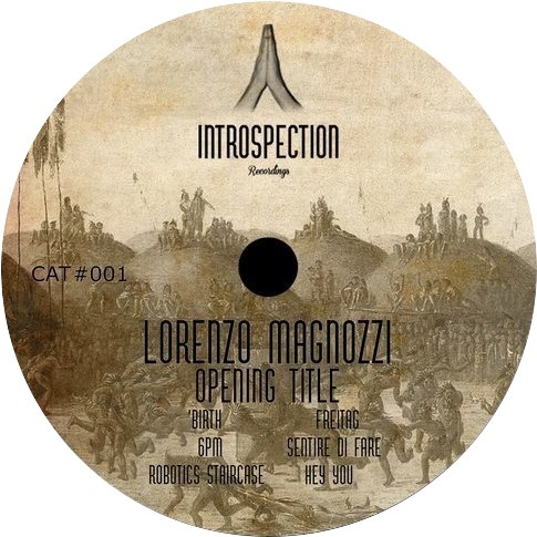 Lorenzo Magnozzi - Opening Title [INTROSPECTION001]