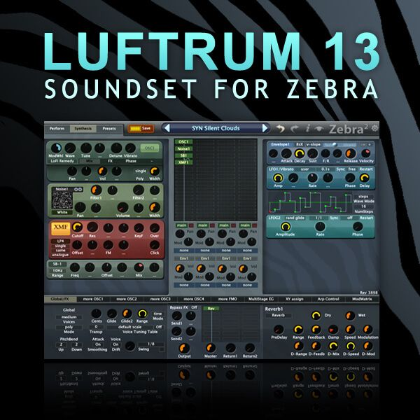 Luftrum Sound Design Lufrum 13 For U-He Zebra2