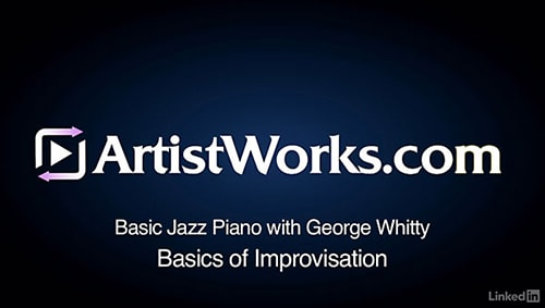 Lynda Jazz Piano 3 Basics of Improvisation TUTORiAL