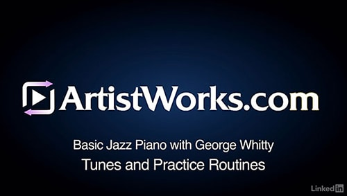 Lynda Jazz Piano 4 Tunes and Practice Routines TUTORiAL