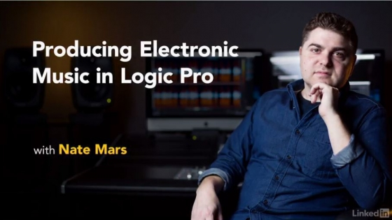 Lynda Producing Electronic Music in Logic Pro TUTORiAL