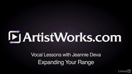 Lynda Vocal Lessons with Jeannie Deva Expanding Your Range TUTORiAL