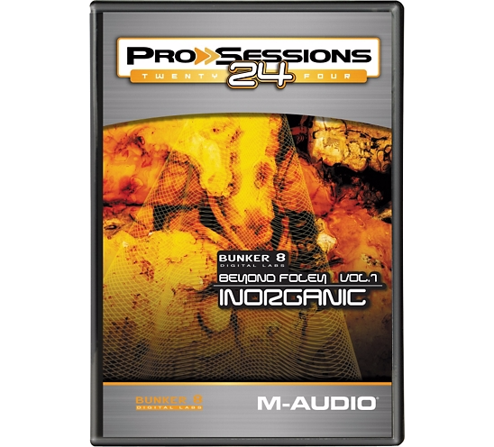 M-Audio Pro Sessions 24 Bunker 8 Beyond Foley Vol.1 Inorganic ACID WAV DVDR-DYNAMiCS