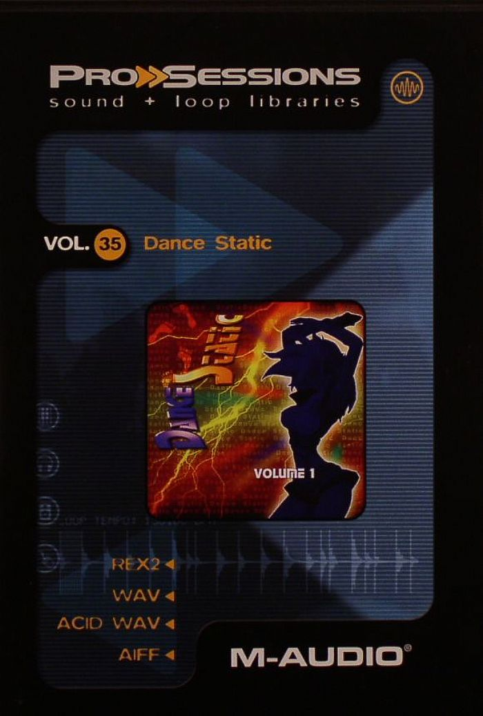 M-Audio Pro Sessions Vol.35 Dance Static ACiD WAV AiFF REX2-DYNAMiCS