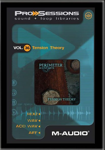 M-Audio Pro Sessions Vol.36 Tension Theory ACID WAV AIFF REX2-AL
