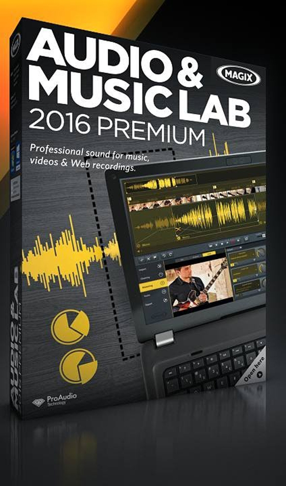 MAGIX Audio & Music Lab 2016 Premium 21.0.2.38