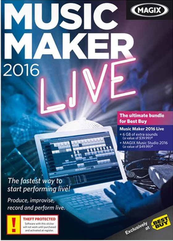 Magix music maker 2016 live 22 0 for House music maker