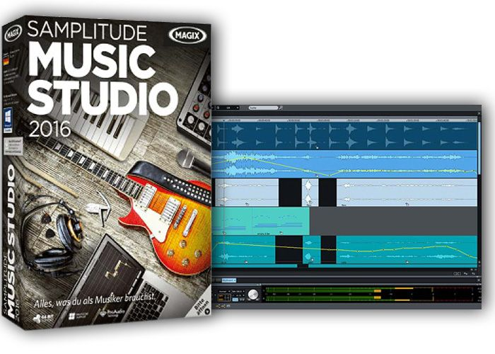 MAGIX Samplitude Music Studio 2016-NEWiSO