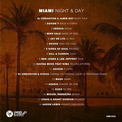 VA - MIAMI Night & Day [UNI104]