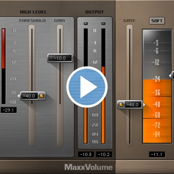 MJ Tutoriels Waves Maxx Volume & MV2 TUTORiAL