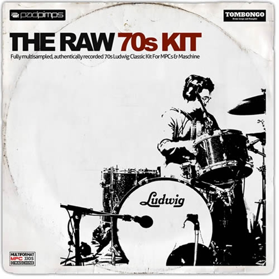 MPC Samples The Raw 70s Kit MULTiFORMAT