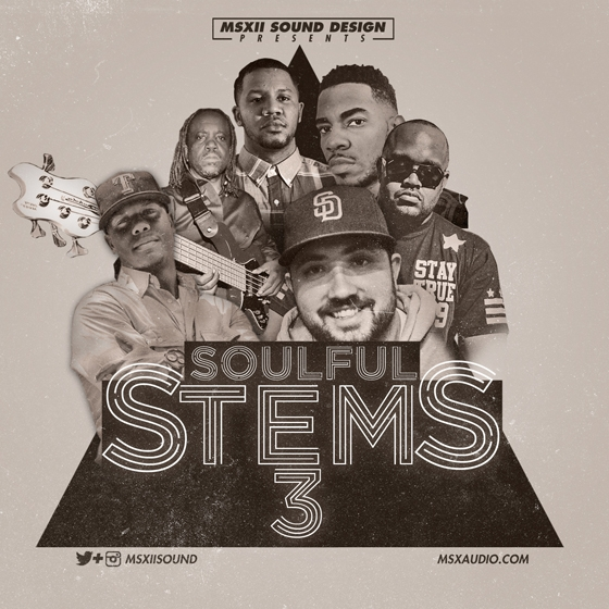 MSXII Audio Presents Soulful Stems Vol.3 WAV