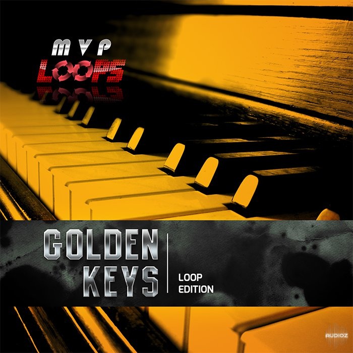 MVP Loops Golden Keys Vol.1 ACID WAV MASCHINE KIT-DISCOVER