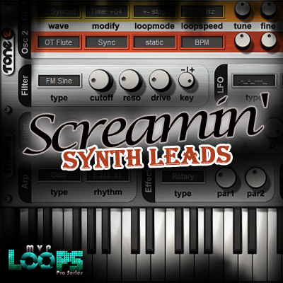 MVP Loops Screamin Synth Leads MULTiFORMAT DVDR-DYNAMiCS