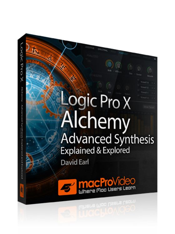 MacProVideo Logic Pro X 210 Alchemy Advanced Synthesis Explained and Explored TUTORiAL