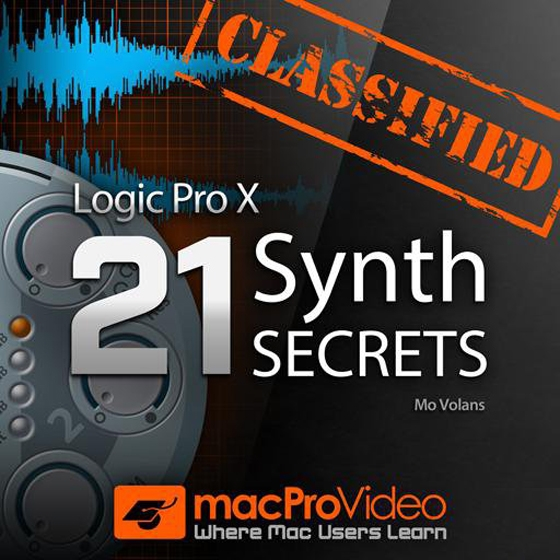 MacProVideo Logic Pro X 303: 21 Synth Secrets TUTORiAL