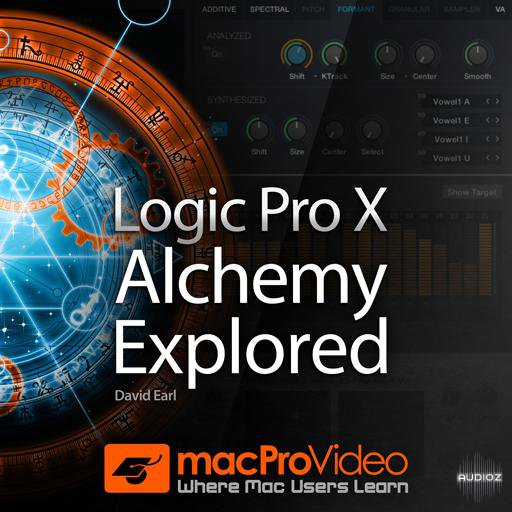 MacProVideo Logic Pro X Alchemy Explored TUTORiAL-SYNTHiC4TE