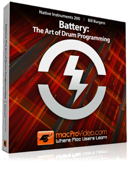 MacProVideo Native Instruments 200 Battery: The Art of Drum Programming TUTORiAL