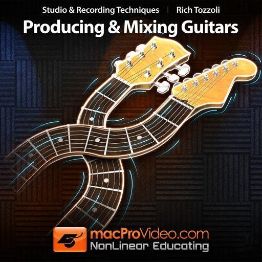MacProVideo Rich Tozzoli Producing and Mixing Guitars TUTORiAL-SYNTHiC4TE