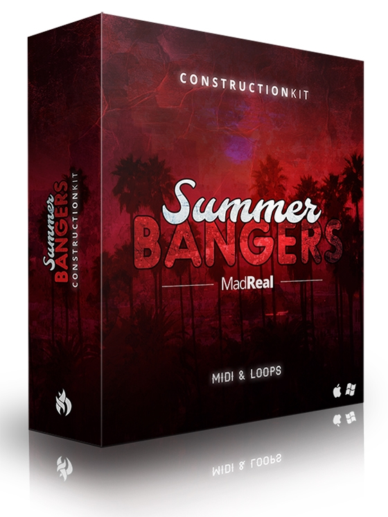 MadReal Summer Bangers Construction Kit WAV MiDi